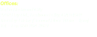 Offices: Verbo Redwood City 2798 Bay Rd., Redwood City, CA 94063 Tuesday-Friday [Second Floor 10am - 4pm] Tel. - Fax 650-364-9821